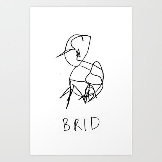 brid Art Print