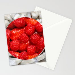 Healthy Japanese Flag Stationery Cards