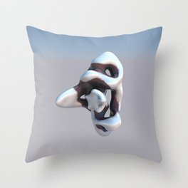 Final Mold Throw Pillow