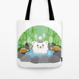 ollaお湯 Tote Bag