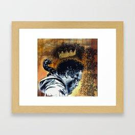 Saint Mingus Framed Art Print