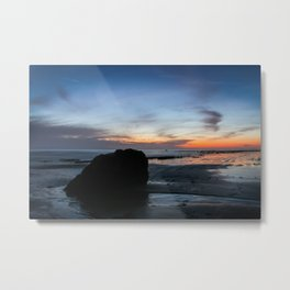 Sunset Handry's Beach Metal Print