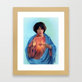 Saint Ted Theodore Logan Framed Art Print