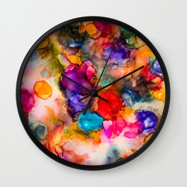 Nebulae Wall Clock