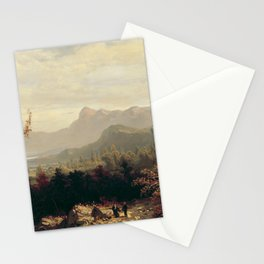 William Louis Sonntag - In the White Mountains, New Hampshire Stationery Cards