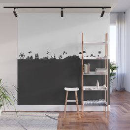 Find Your Angle_Travel_biColor Wall Mural