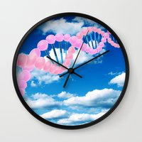 dna Wall Clocks featuring DNA by REINE Mihtla