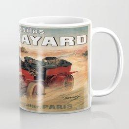 Vintage poster - Automobiles Bayard Coffee Mug