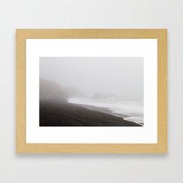 Lost Coast Mood Framed Art Print