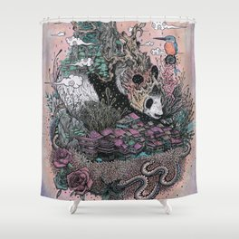 Land of the Sleeping Giant Shower Curtain