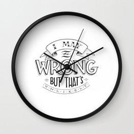 I may be wrong... Wall Clock