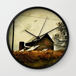 Evening of the First Day Wall Clock