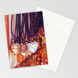Italian necklaces Stationery Cards