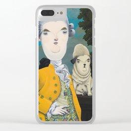 Sir William Pugsworth Clear iPhone Case