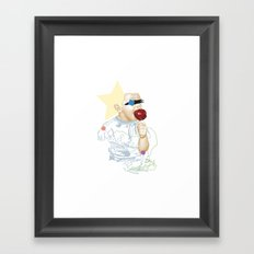 Toffee Apple Framed Art Print