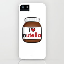 Nutella Cute iPhone Case