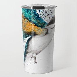 For I Must Be Traveling On Travel Mug