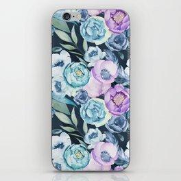 Dark Floral Spring iPhone Skin