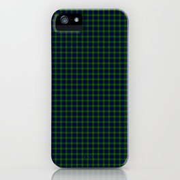Gordon Tartan iPhone Case