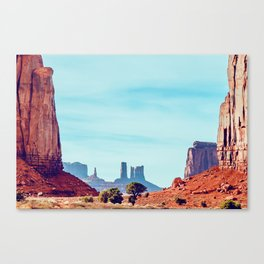 The North Window - Monument Valley Canvas Print