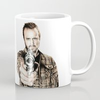 jesse pinkman Mugs featuring Jesse by 13 Styx