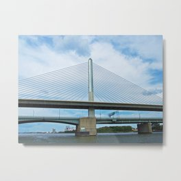 A Cruise on the Maumee Metal Print