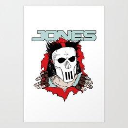 Jones Brigade Art Print