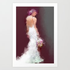 Bridal series - SY Art Print