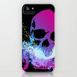 MotoSkull 04 iPhone Case