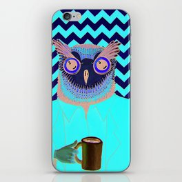 The Owls Are Not What They Seem (unframed) iPhone Skin