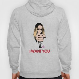 """I want you"" Alycia Debnam Carey Hoody"
