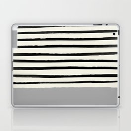 Storm Grey x Stripes Laptop & iPad Skin