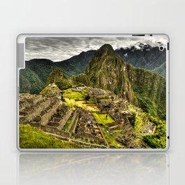 Machu Picchu Hi-Res HDR landscape Peru Laptop & iPad Skin