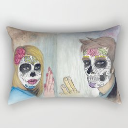 Dia Del Juicio Final Rectangular Pillow