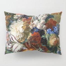 """Jan van Huysum """"Bouquet of Flowers in an Urn"""" Pillow Sham"""