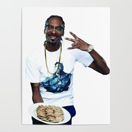 Snoop and Cookies Poster