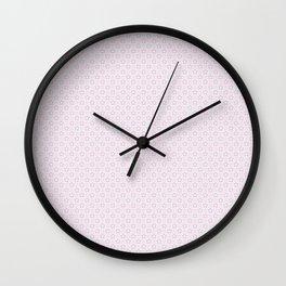 Plum Flower Pattern Wall Clock
