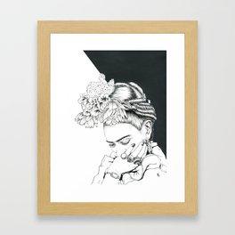 Frida I Framed Art Print