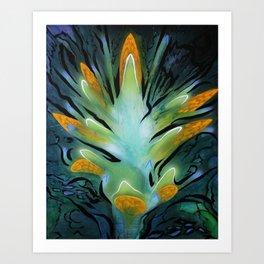 Shuttleflower Redux Art Print