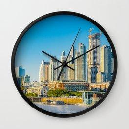 Puerto Madero, Buenos Aires Wall Clock