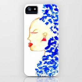 Blue Cleopatra iPhone Case