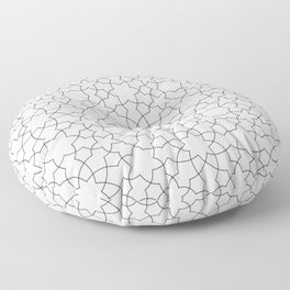 Minimalist Geometric 101 Floor Pillow