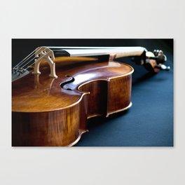 Cello in Repose Canvas Print