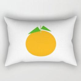Ji Li / Orange Rectangular Pillow