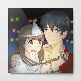 Reina and Chihiro [Halloween] Metal Print