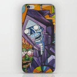 reaper cube iPhone Skin