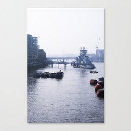 London - RT [Portrait] Canvas Print