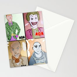 Bat Rogues Stationery Cards