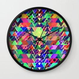 Geometric pattern 2b Wall Clock