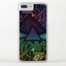 Shifting Perspective Clear iPhone Case